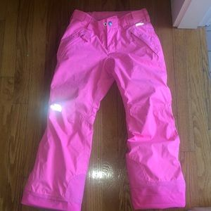 The north face ski/snow pants. Size 7/8 extended.